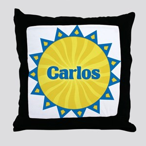 Carlos Sunburst Throw Pillow