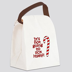 Its not going to lick itself! Canvas Lunch Bag