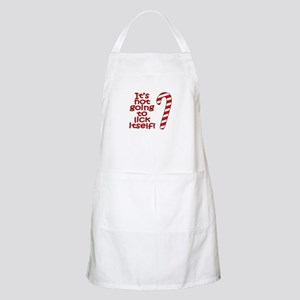 Its not going to lick itself! Apron