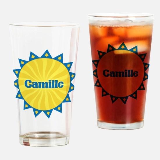 Camille Sunburst Drinking Glass