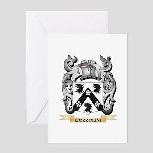 Cozzolini Family Crest - Cozzolini Greeting Cards