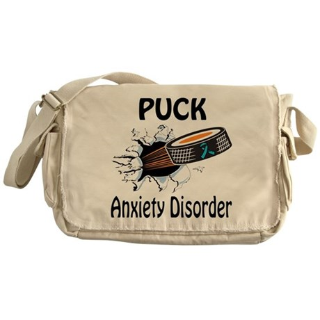 Puck Anxiety Disorder Messenger Bag