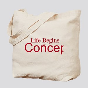 Life begins at conception gifts Tote Bag