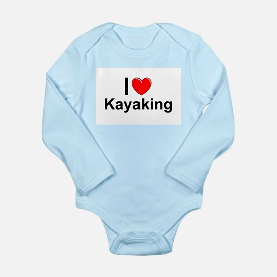 Kayaking Long Sleeve Infant Bodysuit