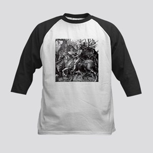 Knight & Devil Durer 1471-1528 Kids Baseball Jerse