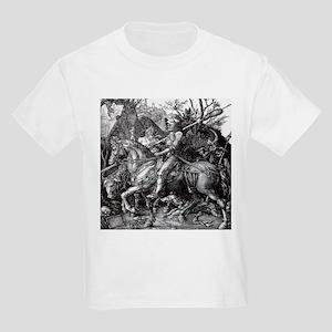 Knight & Devil Durer 1471-1528 Kids Light T-Shirt