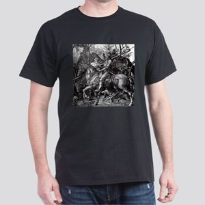 Knight & Devil Durer 1471-1528 Dark T-Shirt