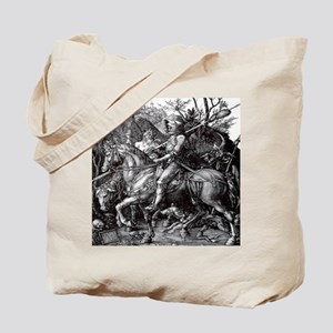Knight & Devil Durer 1471-1528 Tote Bag