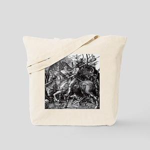 Knight & Devil Durer 1471-1528 Tote Bag