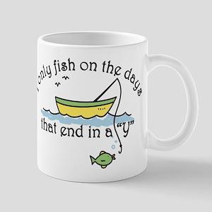 I Only Fish Mug
