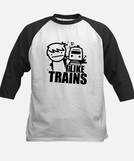 I Like Trains! Baseball Jersey