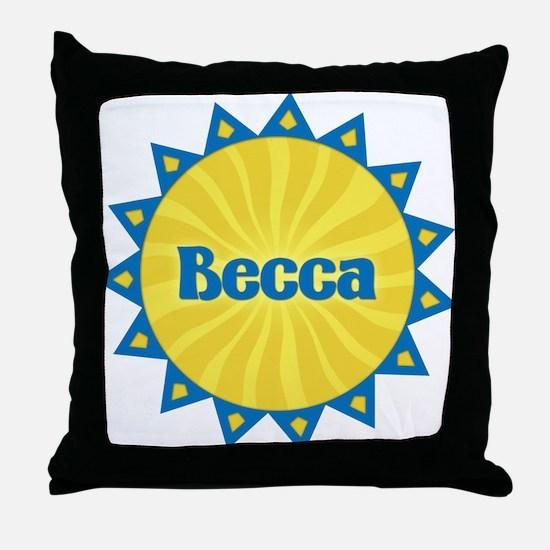 Becca Sunburst Throw Pillow