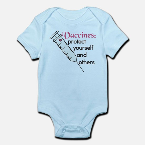 Protect Yourself Infant Bodysuit