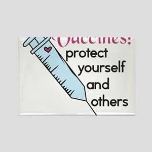 Protect Yourself Rectangle Magnet