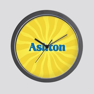 Ashton Sunburst Wall Clock