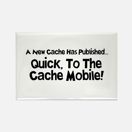 Cache Mobile Rectangle Magnet