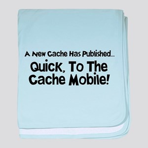Cache Mobile baby blanket