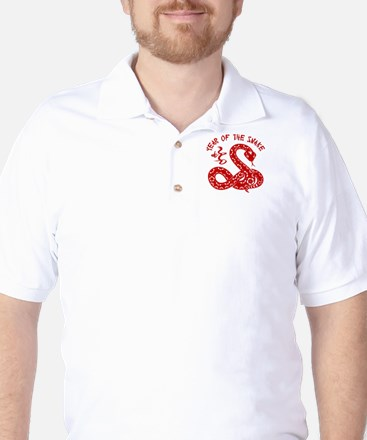 Year Of The Snake Golf Shirt