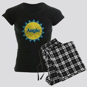 Angie Sunburst Women's Dark Pajamas