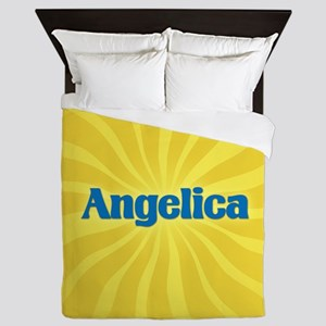 Angelica Sunburst Queen Duvet