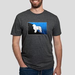 blueblack Mens Tri-blend T-Shirt