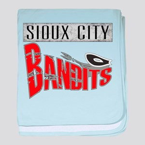 Sioux City Bandits Baby Blanket