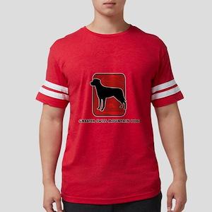 26-redsilhouette Mens Football Shirt