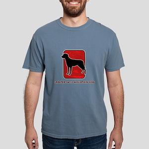 26-redsilhouette Mens Comfort Colors Shirt