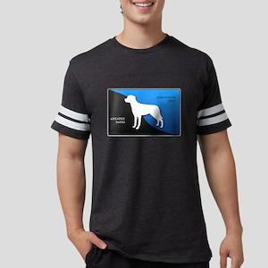 2-blueblack Mens Football Shirt