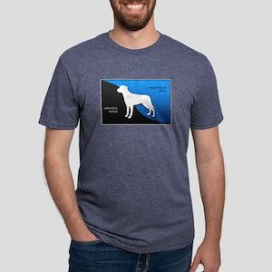 2-blueblack Mens Tri-blend T-Shirt