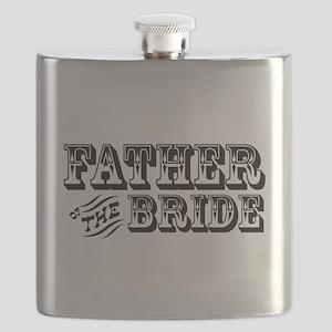 fatherofthebride-western Flask