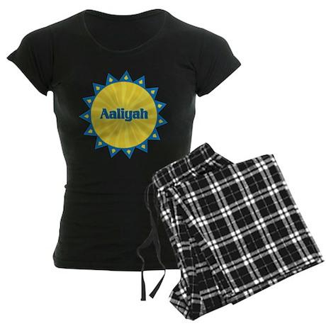 Aaliyah Sunburst Women's Dark Pajamas