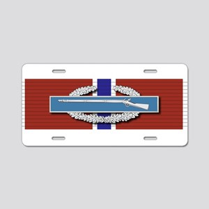 CIB Bronze Star Aluminum License Plate