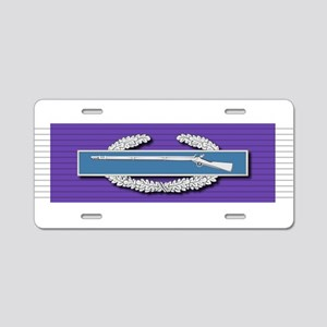 CIB Purple Heart Aluminum License Plate