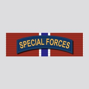 Special Forces Bronze Star 36x11 Wall Decal