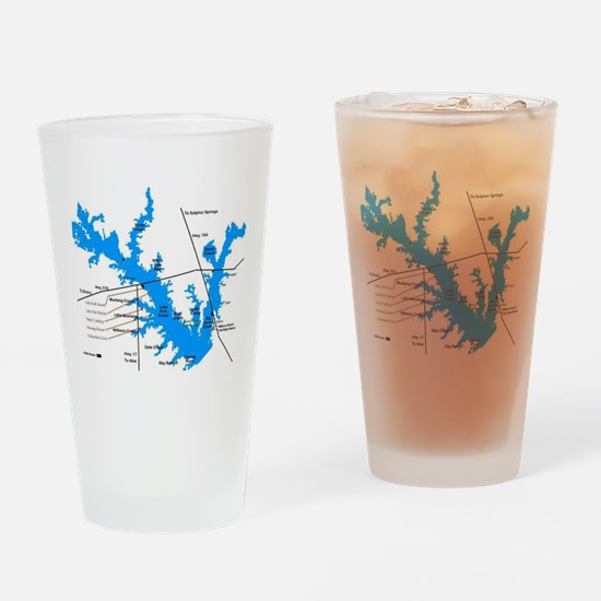 LAKE FORK Drinking Glass