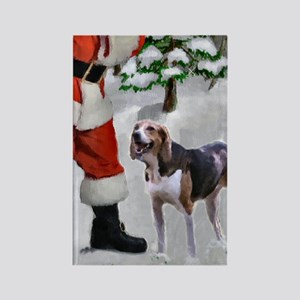 American Foxhound Chris Rectangle Magnet (10 pack)