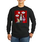 Vampire Generation Gap Long Sleeve Dark T-Shirt