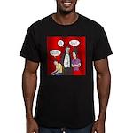Vampire Generation Gap Men's Fitted T-Shirt (dark)