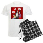 Vampire Generation Gap Men's Light Pajamas