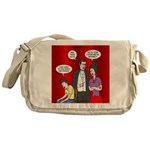 Vampire Generation Gap Messenger Bag