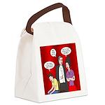 Vampire Generation Gap Canvas Lunch Bag