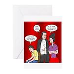 Vampire Generation Gap Greeting Cards (Pk of 20)