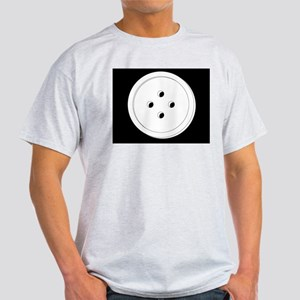 White Shirt Button Light T-Shirt