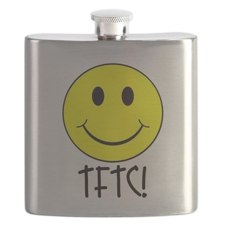 TFTC with Smiley Flask