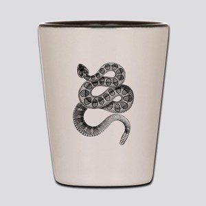 Rattlesnake Shot Glass