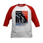 The most important Wheels- Kids Baseball Jersey