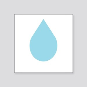 "Water Drop Square Sticker 3"" x 3"""
