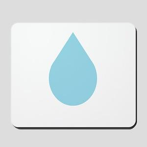 Water Drop Mousepad