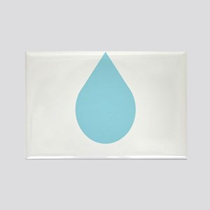Water Drop Rectangle Magnet